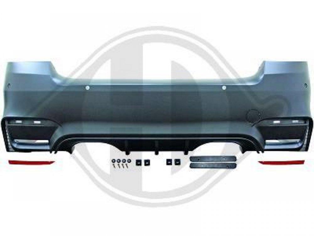 Бампер задний в стиле M3 EVO4 для BMW 3 E92 / E93