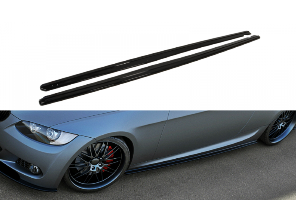 Накладки на пороги MAXTON Design для BMW 3 E92 M-Pack