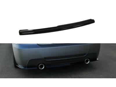 Накладка на задний бампер центральная MAXTON Design для BMW 3 E92 M-Pack
