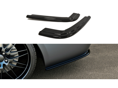 Накладки на задний бампер боковые MAXTON Design для BMW 3 E92 M-Pack