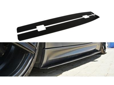 Накладки на пороги MAXTON Design Var2 для BMW M3 E92 / E93