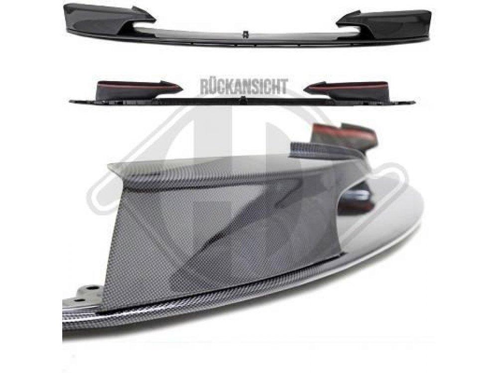 Накладка на передний бампер под карбон M-Performance от HD для BMW 3 F30 / F31