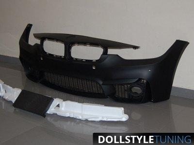 Бампер передний M-Performance EVO от HD на BMW 3 F30