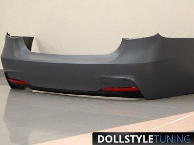 Бампер задний в стиле M-Technic от HD на BMW 3 F30