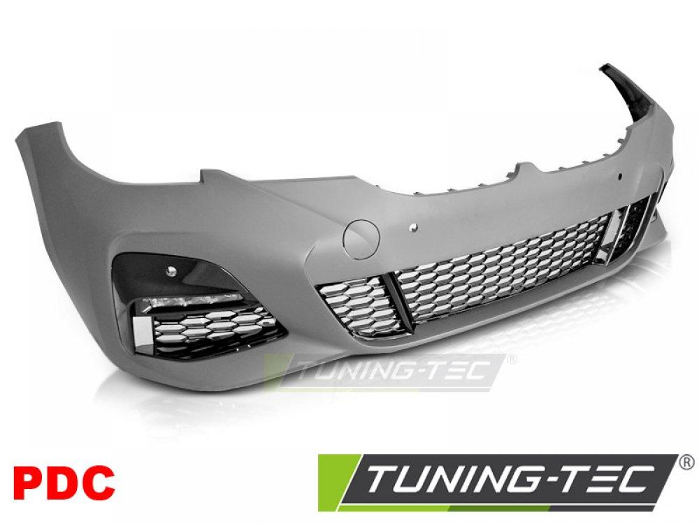 Бампер передний в стиле M-Tech под парктроники от Tuning-Tec на BMW 3 G20 / G21