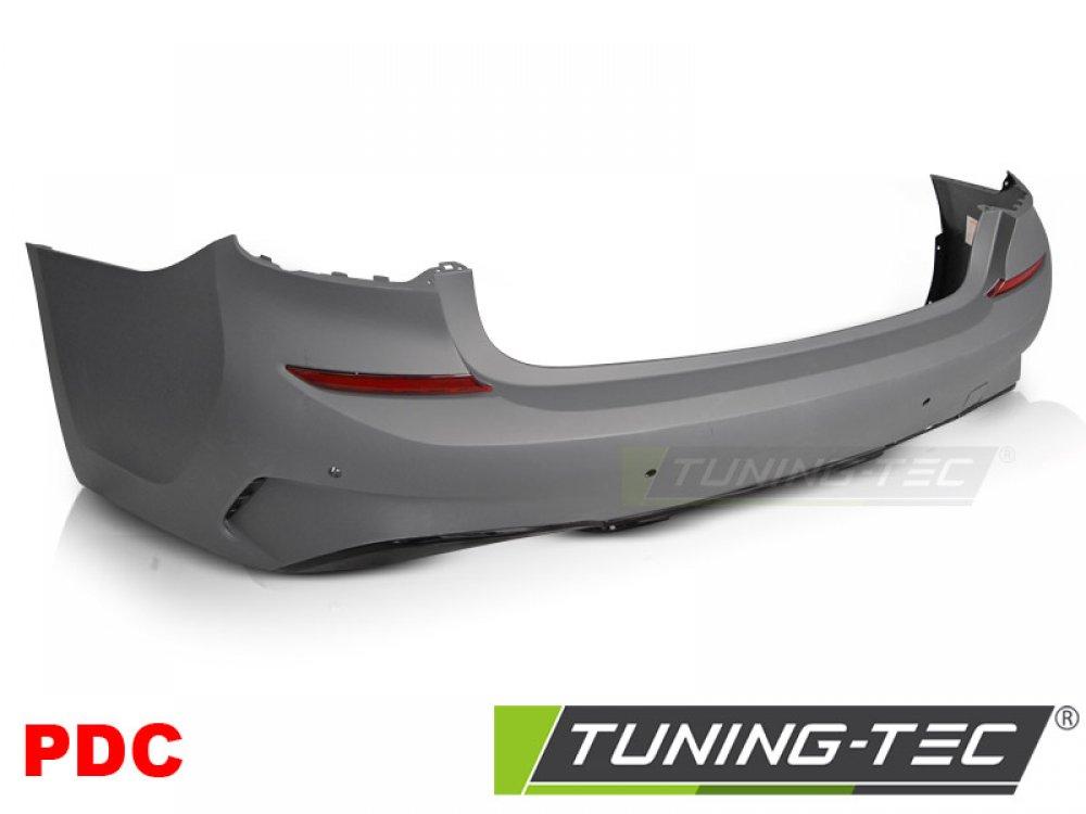 Бампер задний мат в стиле M-Tech под парктроники от Tuning-Tec на BMW 3 G20 / G21