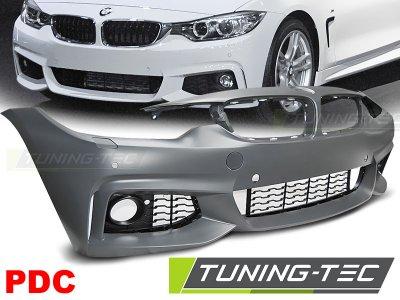 Бампер передний M-Tech Look от Tuning-Tec на BMW 4 F32 / F33 / F36