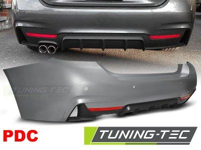 Бампер задний M-Performance Look от Tuning-Tec на BMW 4 F32 / F33