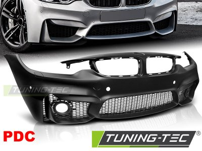 Бампер передний M4 Look от Tuning-Tec на BMW 4 F32 / F33 / F36