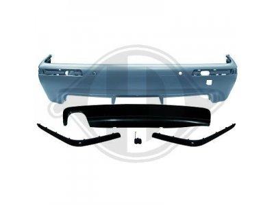 Бампер задний в стиле M-Tech от HD для BMW 5 E39 под парктроники