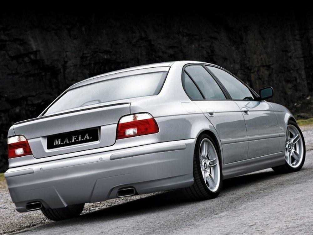 Бампер задний Mafia Look от Maxton Design для BMW 5 E39