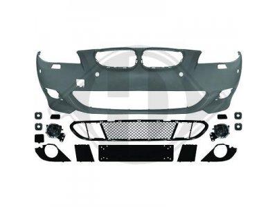 Бампер передний в стиле M-Technic на BMW 5 E60 рестайл