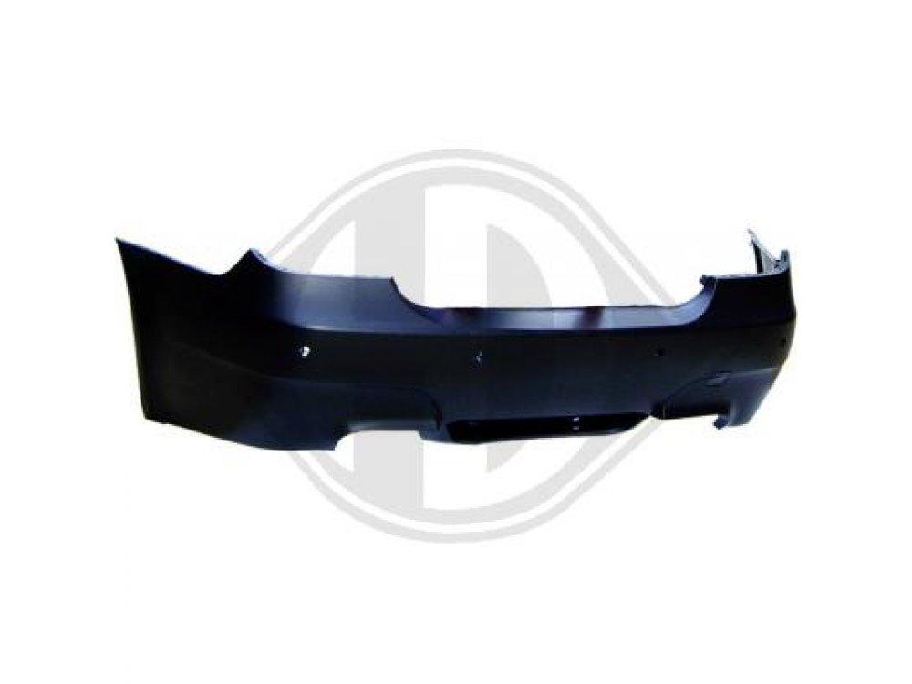 Бампер задний в стиле M5 от HD на BMW 5 E60