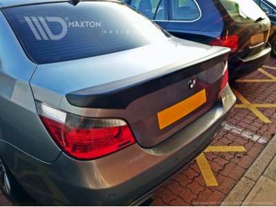 Спойлер на крышку багажника Generation V от Maxton Design на BMW 5 E60