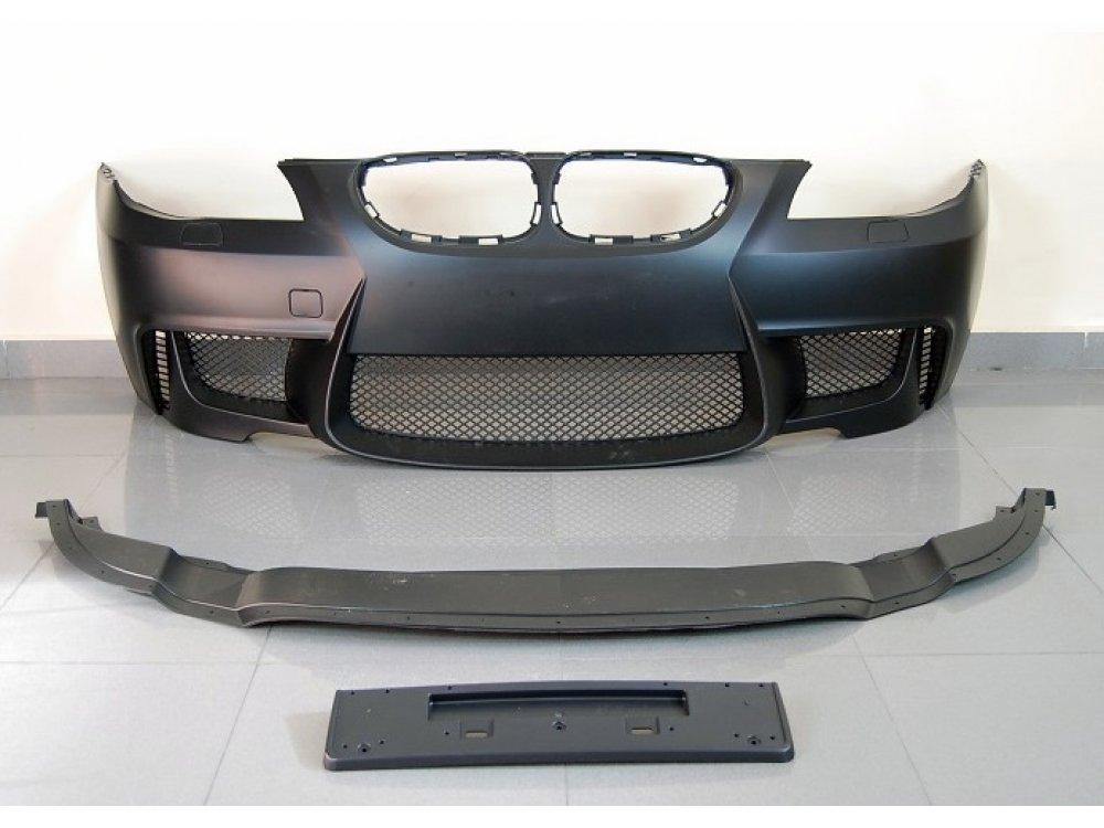 Бампер передний в стиле M1 от HD на BMW 5 E60