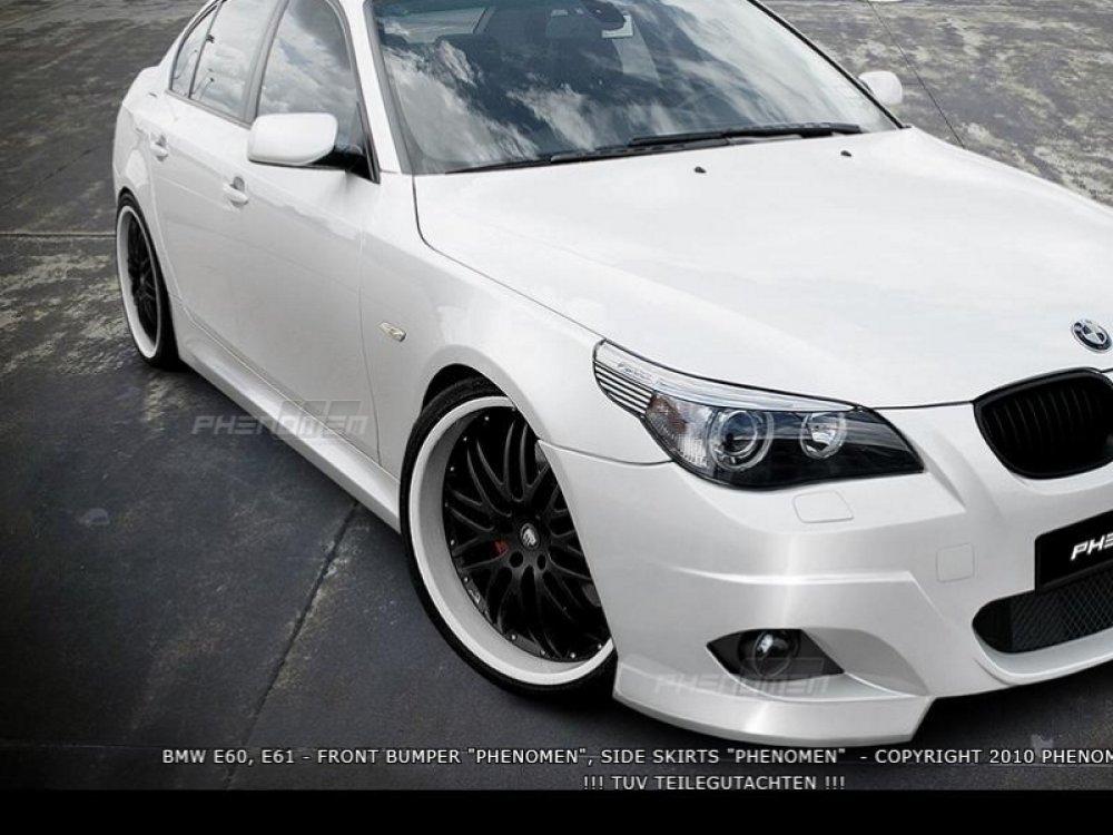 Накладки на пороги Phenomen от Maxton Design на BMW 5 E60 / E61