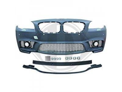 Бампер передний в стиле M-Performance на BMW 5 серии F10 рестайл (Бельгия)
