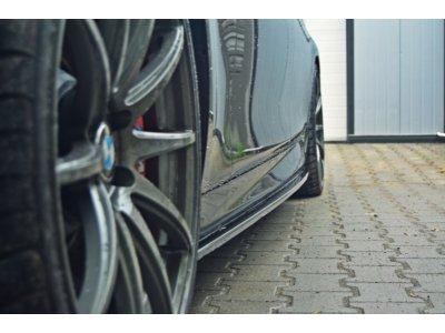 Накладки на пороги MAXTON Design для BMW 5 F10 M-Pack