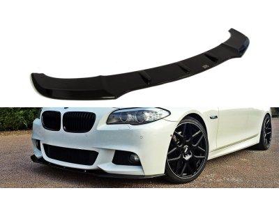 Накладка на передний бампер MAXTON Design для BMW 5 F10 M-Tech