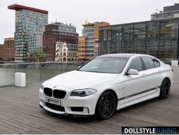 Комплект обвеса в стиле Prior-Design PD-R на BMW 5 F10 (реплика)