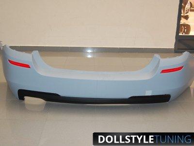 Бампер задний M-Technic на BMW 5 серии F10 (Бельгия)