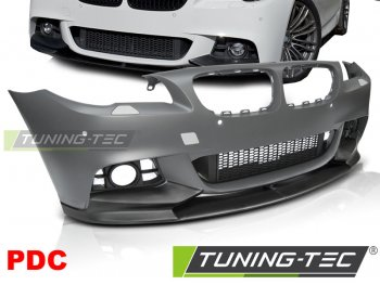 Бампер передний M-Performance Look от Tuning-Tec на BMW 5 F10 / F11 рестайл