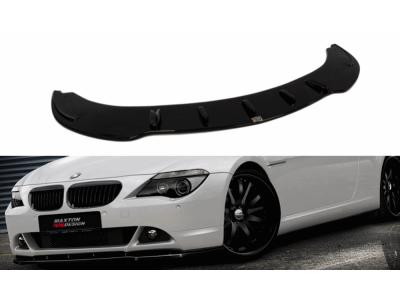 Накладка на передний бампер от Maxton Design для BMW 6 E63