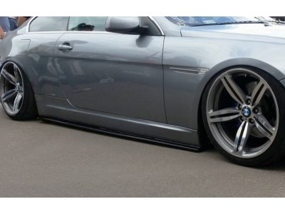 Накладки порогов от Maxton Design для BMW 6 E63