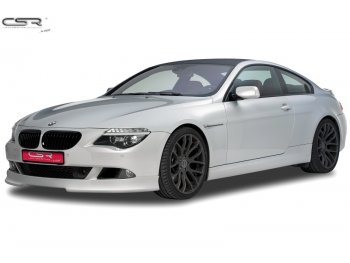 Накладка переднего бампера CSR Automotive на BMW 6 E63 рестайл