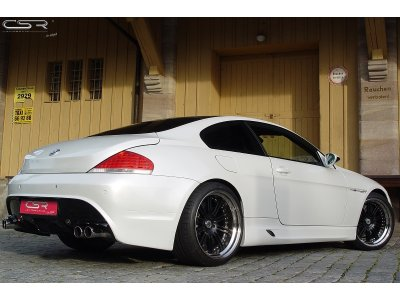 Бампер задний EVO M Style от CSR Automotive на BMW 6 E63