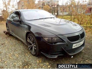 Капот тюнинговый с жабрами в стиле Vorsteiner на BMW 6 E63
