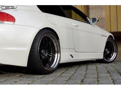 Накладки на пороги EVO M Style от CSR Automotive на BMW 6 E63