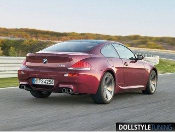 Бампер задний в стиле M6 на BMW 6 E63