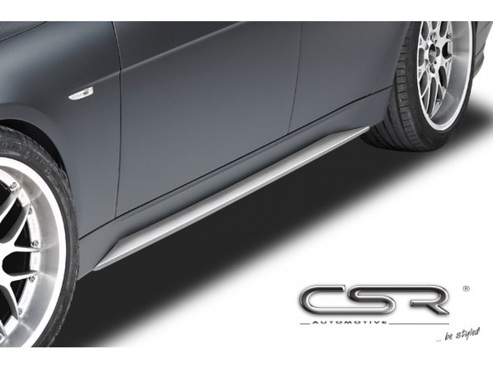 Накладки на пороги от CSR Automotive на BMW 7 E65