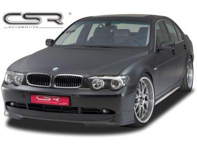 Накладка на передний бампер от CSR Automotive на BMW 7 E65 / E66