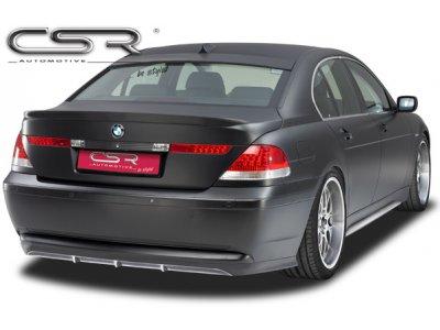 Накладка на задний бампер от CSR Automotive на BMW 7 E65 / E66