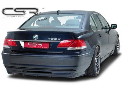 Накладка на задний бампер от CSR Automotive на BMW 7 E65 / E66 рестайл