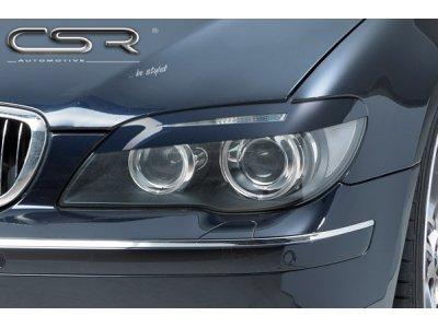 Реснички на фары от CSR Automotive на BMW 7 E65 / E66 рестайл
