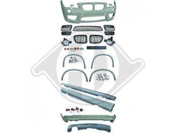 Аэродинамический обвес M-Tech Look от HD на BMW X1 E84