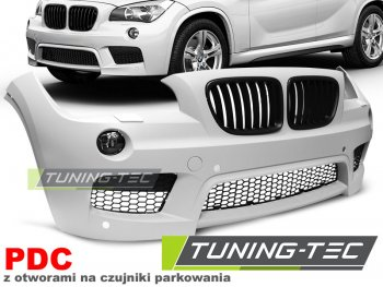 Бампер передний M-Tech Look под датчики парковки от Tuning-Tec на BMW X1 E84