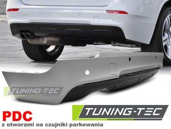 Бампер задний M-Tech Look под датчики парковки от Tuning-Tec на BMW X1 E84 Diesel