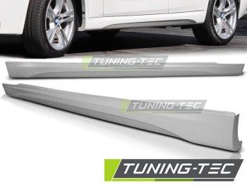 Накладки на пороги M-Tech Look от Tuning-Tec на BMW X1 E84