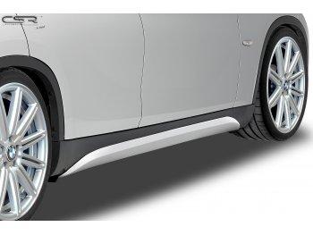 Накладки на пороги от CSR Automotive на BMW X1 E84