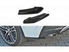 Боковые элероны на задний бампер от Maxton Design для BMW X4 F26 M-Paket
