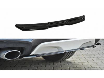 Накладка на задний бампер центральная от Maxton Design для BMW X4 F26 M-Paket