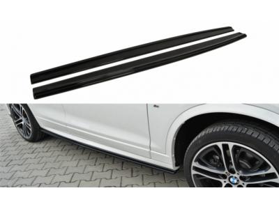 Накладки на пороги от Maxton Design для BMW X4 F26 M-Paket
