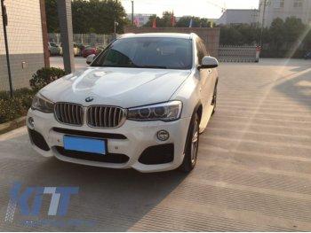 Комплект обвеса M Look от KITT для BMW X4 F26