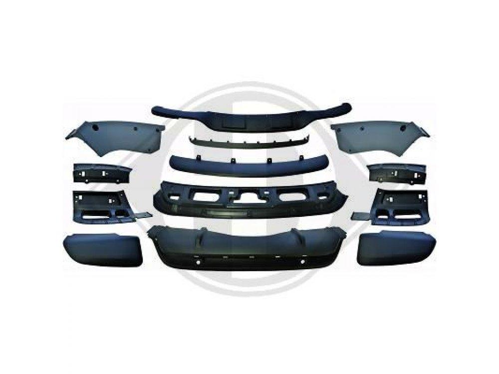 Аэродинамический обвес из АБС пластика от HD для BMW X5 E70 рестайл