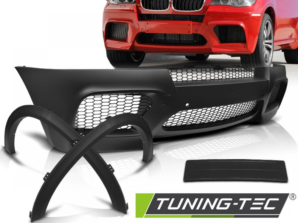 Бампер передний X5M Look под датчики парковки от Tuning-Tec на BMW X5 E70