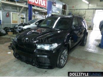Бампер передний Hamann Evo без расширения для BMW X5 E70 рестайл